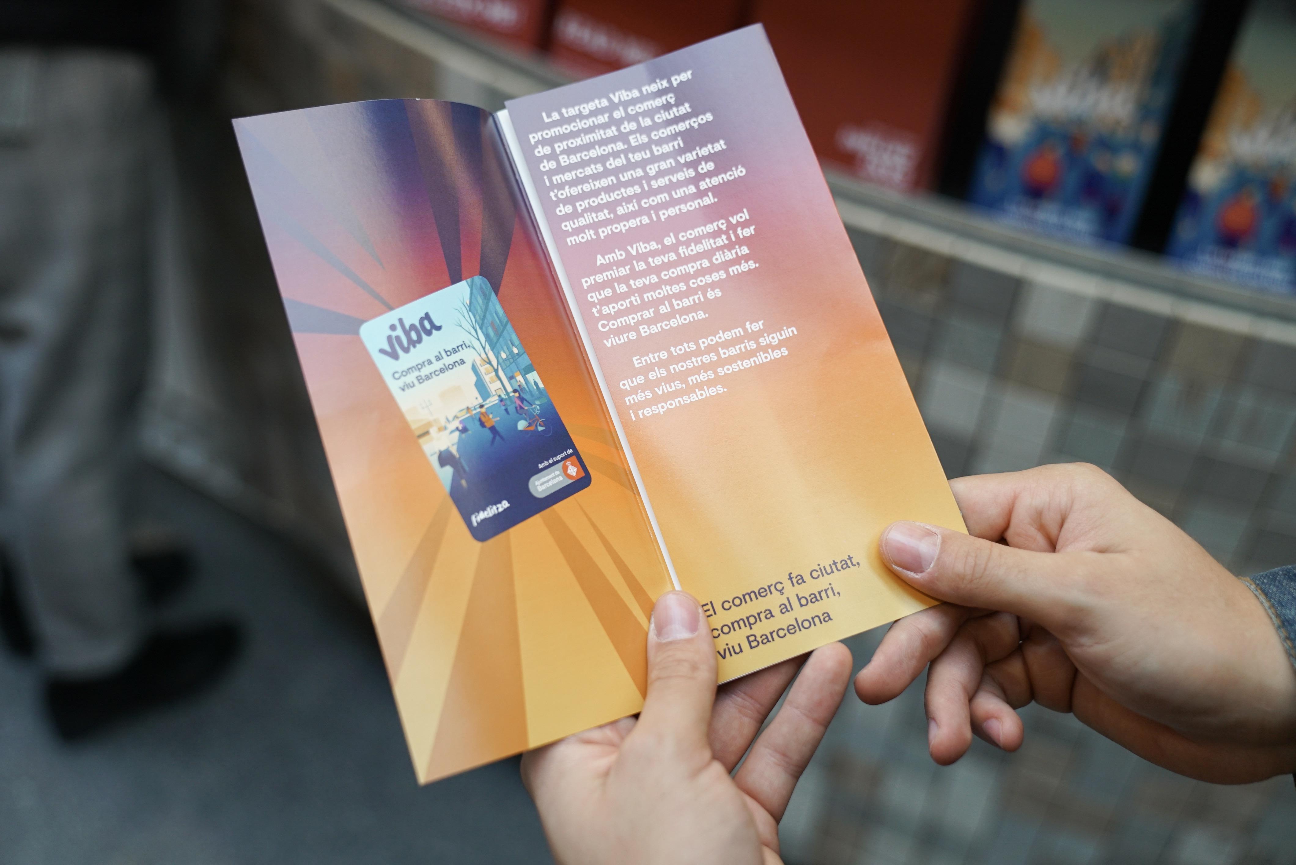 Barcelona pone en marcha Viba.barcelona, la tarjeta de fidelización para el comercio de proximidad