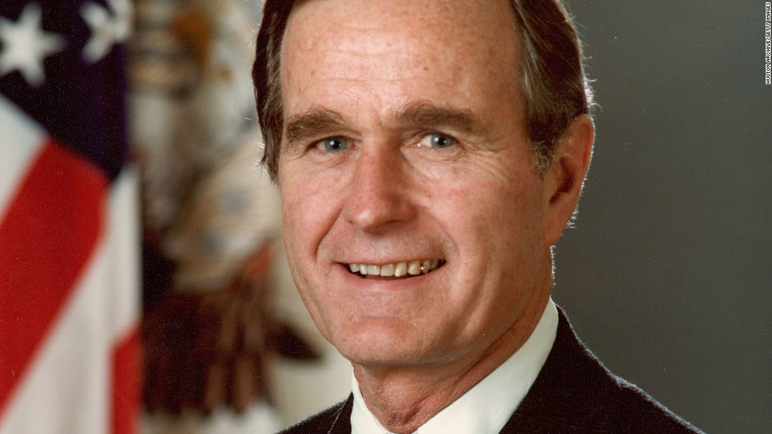 Muere expresidente George H.W. Bush a los 94 años
