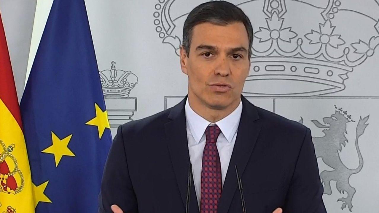 Sánchez aprueba un nuevo estado de alarma en España que quiere alargar hasta el 9 de mayo